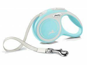 Flexi New Comfort XS (riem 3m) lichtblauw