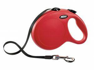 Flexi New Classic L (riem 8m) rood