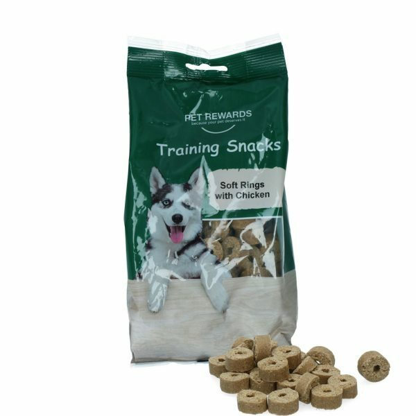 Pet Rewards Soft rings with chicken
