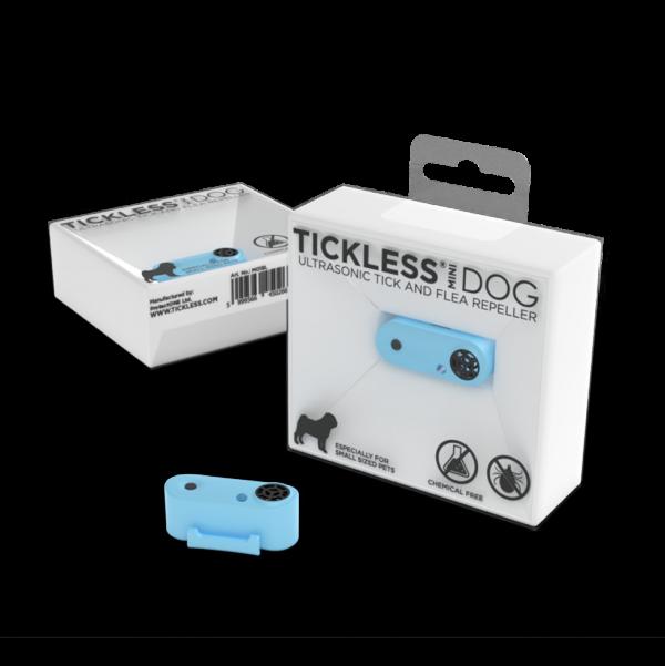 Tickless Mini Dog Blauw oplaadbaar