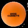 Dog Comets Ball Stardust Oranje S
