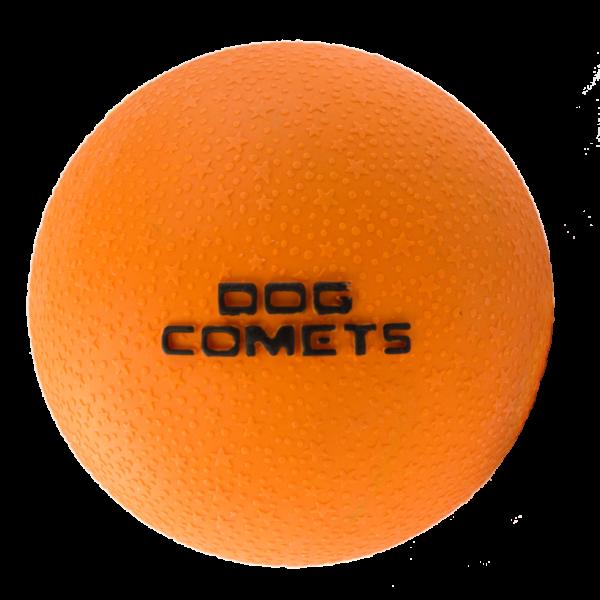 Dog Comets Ball Stardust Zwart/Oranje S