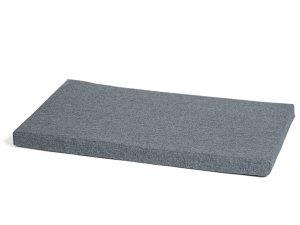 Bench kussen waterafstotend grijs 67x40x3cm