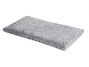 Bench kussen Zachte pluche grijs 83x49x3cm