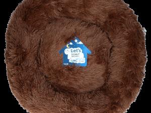 Let's Sleep Donut 60 cm Bruin