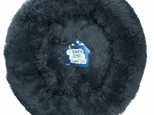 Let's Sleep Donut 60 cm Donkergrijs