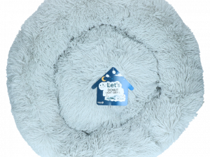 Let's Sleep Donut 60 cm Lichtgrijs