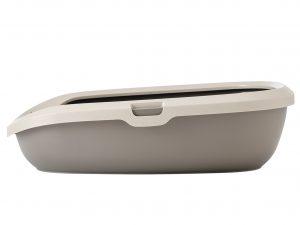 Kattenbak HP Gizmo grijs 44x35,5x12,5cm M