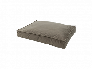 Madison Velours Lounge Cushion Taupe S